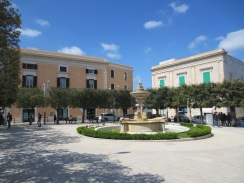 Part of Noci's Piazza Garibaldi
